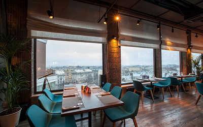 Банкетный зал ресторана Паруса на крыше на улице Льва Толстого фото 2