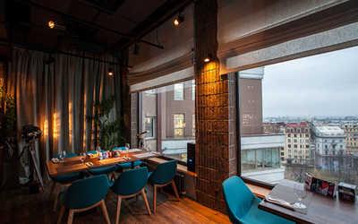 Банкетный зал ресторана Паруса на крыше на улице Льва Толстого фото 3