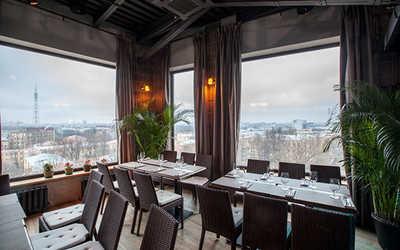 Банкетный зал ресторана Паруса на крыше на улице Льва Толстого фото 1