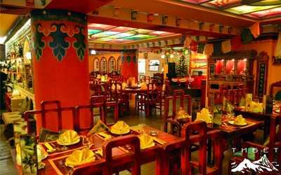 Банкетный зал ресторана Тибет Гималаи на Никольской улице