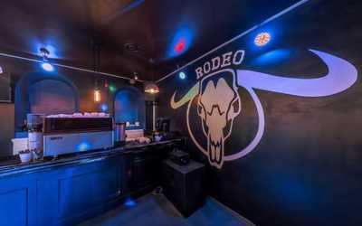 Банкетный зал бара, караоке клуба Rodeo (Родео) на  Большой Полянке