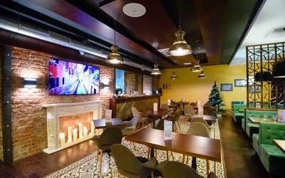 Банкетный зал ресторана Buon Gusto (Буон Густо) на 9-й линии