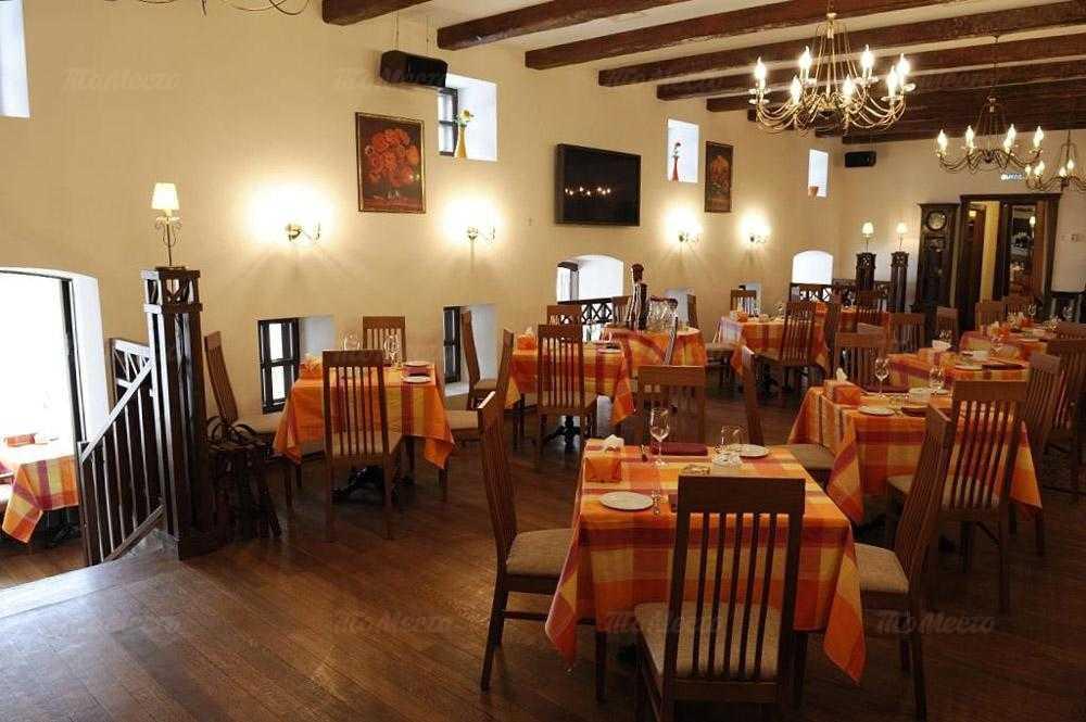 Меню ресторана Лунный дворик в Басманной Нов.