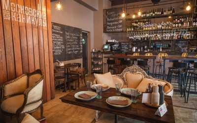 Банкетный зал бара, кафе Московские каникулы в Милютинском переулке фото 2