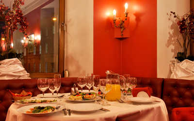 Банкетный зал ресторана Одеон в Якубовиче