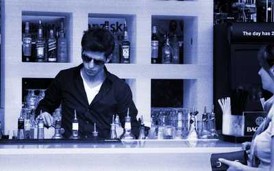 Банкетный зал бара All Time (Ол Тайм) в Пушкиной фото 2