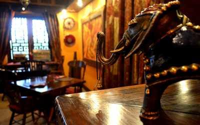 Банкетный зал ресторана Малабар в Малой Красной