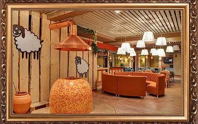 Банкетный зал ресторана АйДаБаран в Ленинградском фото 2