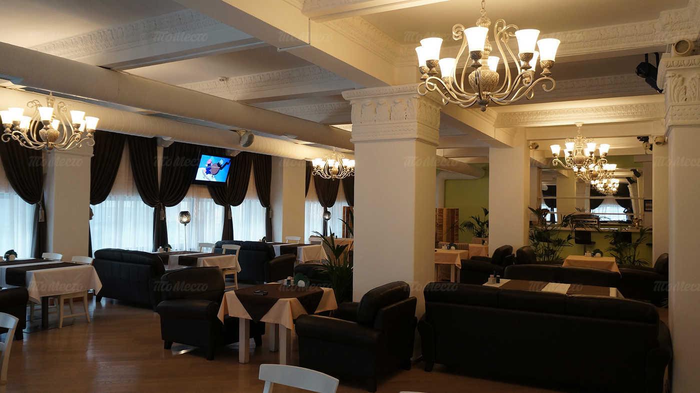 Меню кафе Теплица в Орликове