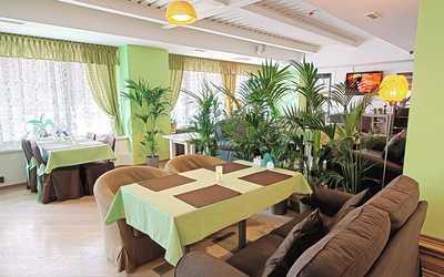 Банкетный зал кафе Теплица в Орликове