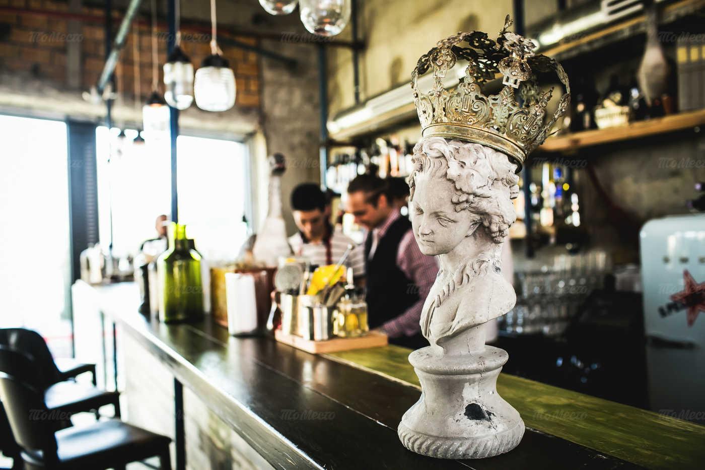 Меню бара, ресторана Door 19 в Серебрянической
