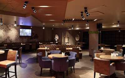 Банкетный зал ресторана BAR BQ CAFE (Бар Бикью Кафе) на Трубной площади