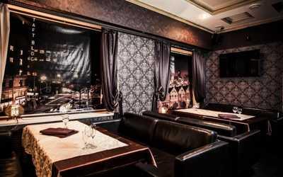 Банкетный зал бара, ресторана California (Калифорния) на проспекте Ленина