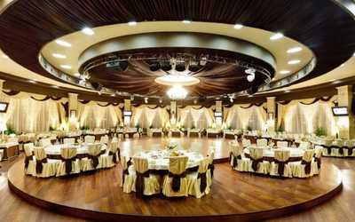 Банкетный зал ресторана Панорама в Фатыхах Амирхана