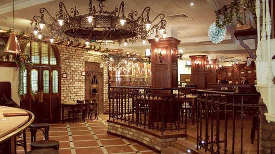 Меню пивного ресторана Максимилианс (Maximilian's) в Спартаковской