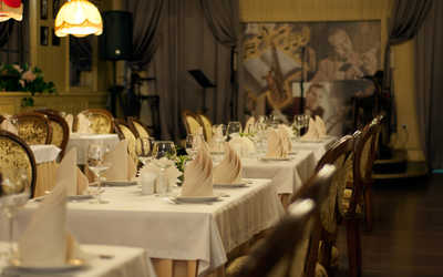 Банкетный зал ресторана Перекресток джаза в Карле Марксе фото 1