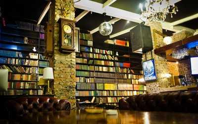Банкетный зал бара Библиотека на Галактионовской фото 2