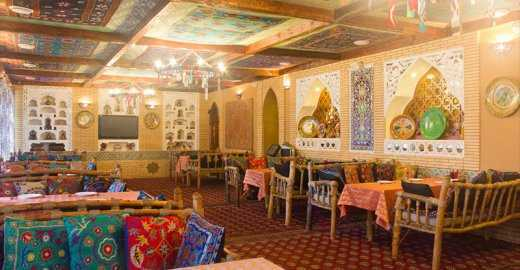 Меню ресторана Древняя Бухара в Право-Булачной