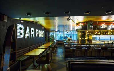 Банкетный зал бара Bar Port (Порт) на Цветном бульваре