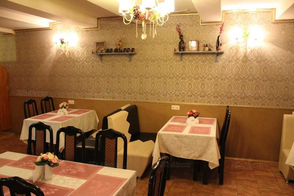 Меню кафе Мерани в Захарьевской