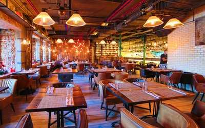 Банкетный зал ресторана Фаренгейт на Тверском бульваре