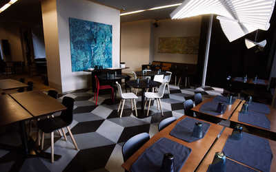 Банкетный зал кафе Полет на улице Пестеля
