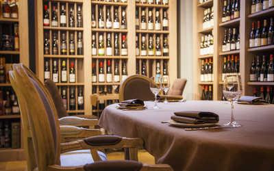 Банкетный зал бара, ресторана Grape (Грейп) в Никитской М.