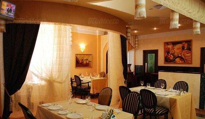 Меню ресторана Шафран в Петербургской