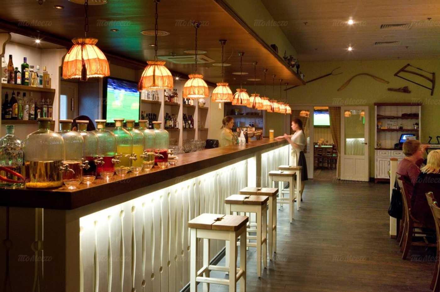 Меню пивного ресторана Пиворама в Просвещениях