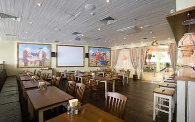 Банкетный зал пивного ресторана Пиворама в Коломяжском