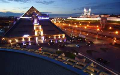 Банкетный зал ресторана Пирамида на Московской