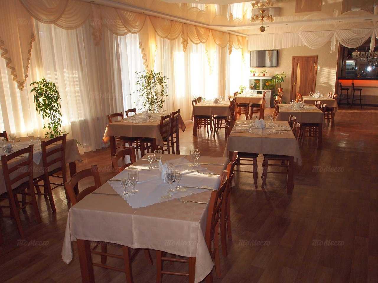 Меню кафе Калинка в Ташкентской