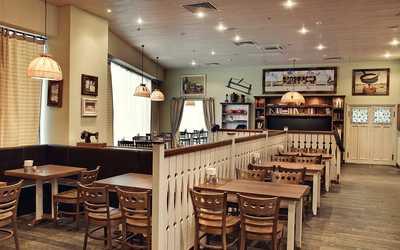 Банкетный зал пивного ресторана, ресторана Пиворама в Московском