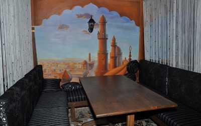 Банкетный зал караоке клуб, кафе Хаджа в Масленниковой