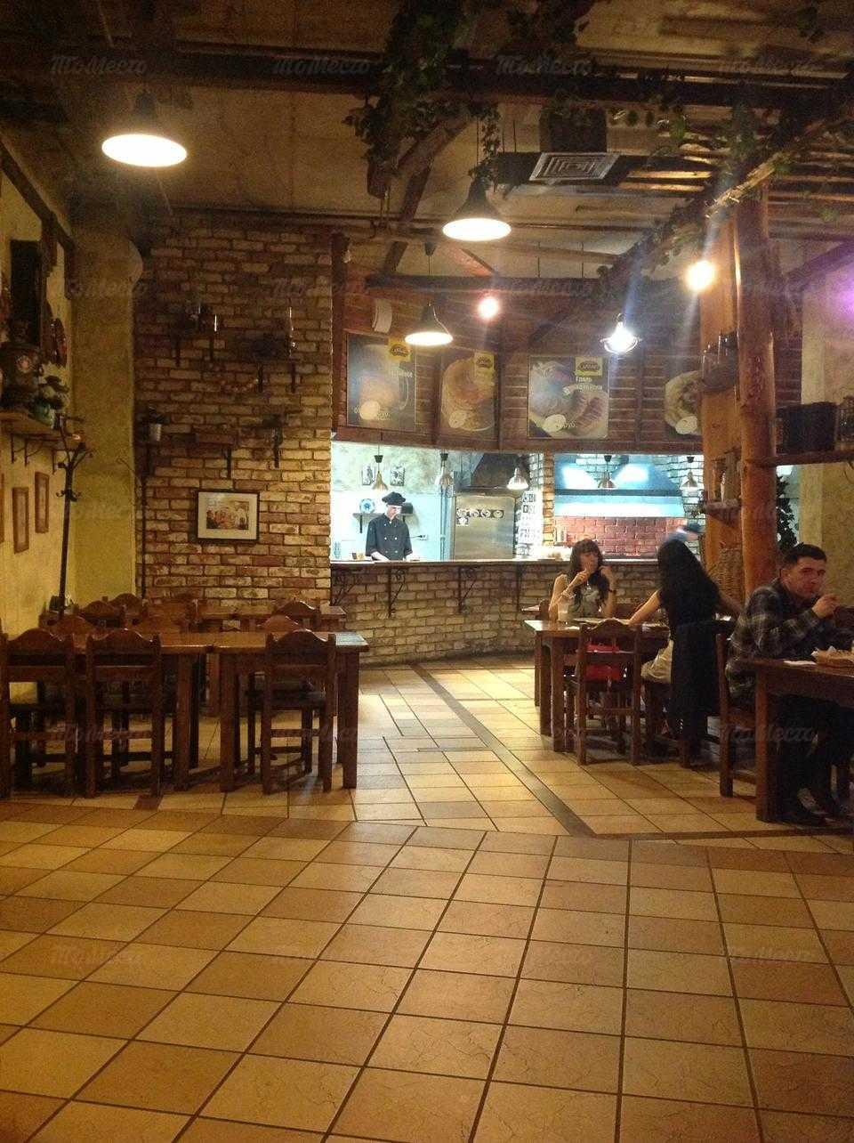 Меню бара Старый Амбар в Ямашевой