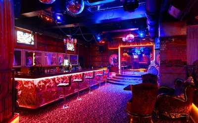 Банкетный зал караоке клуба Chicago (Чикаго) на Крымском Валу