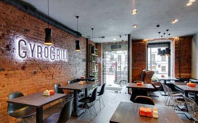 Банкетный зал ресторана GyroGrill (ГироГриль) на Литейном проспекте