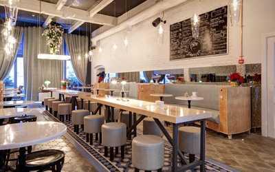 Банкеты кафе Canteen (Кантин) на Рочдельской улице фото 3