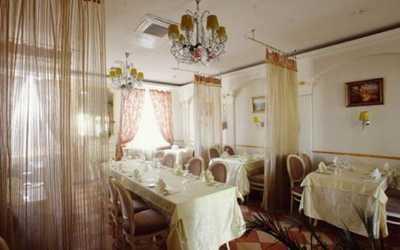 Банкетный зал ресторана Bacco (Бакко) на Галактионовской улице
