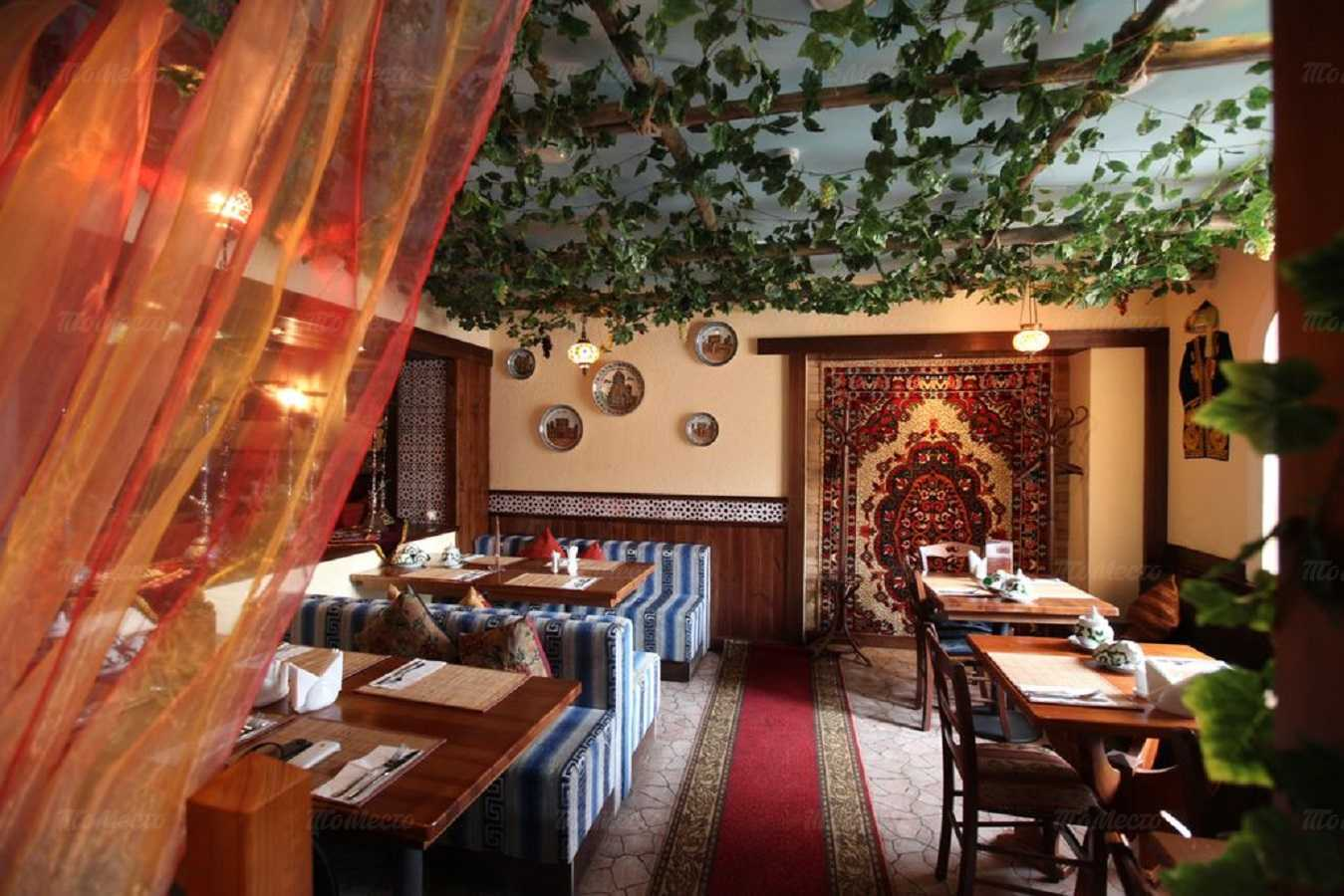 Меню ресторана Али-Баба на Алексеевской улице