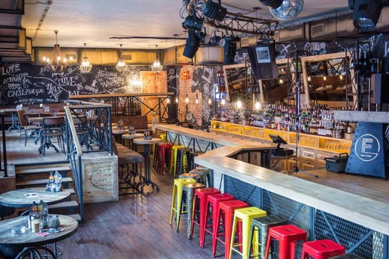 Меню бара, ночного клуба, ресторана Fabrika (Фабрика) на Рождественской улице