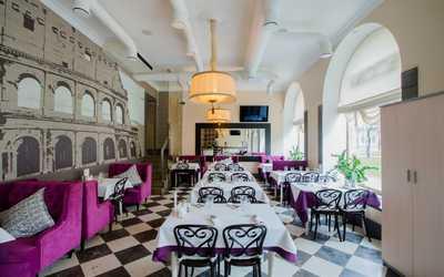 Банкетный зал кафе, ресторана Tutaliano (Туталиано) на Большом проспекте Васильевского острова