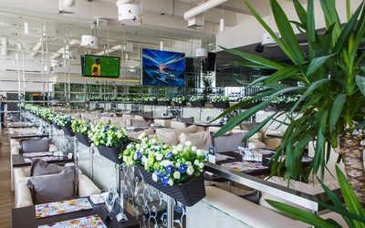 Банкетный зал бара, ресторана Sasha's bar на Приморском проспекте