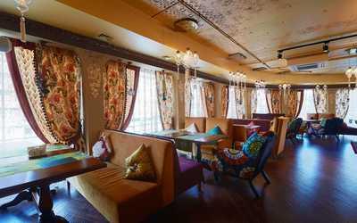 Банкетный зал ресторана Лаунж-кафе Чилим на улице Малышева