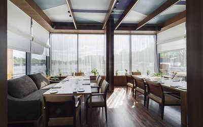 Банкетный зал ресторана Чайка на набережной Мартынова