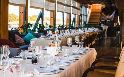 Банкетный зал ресторана Чайка на набережной Мартынова фото 2