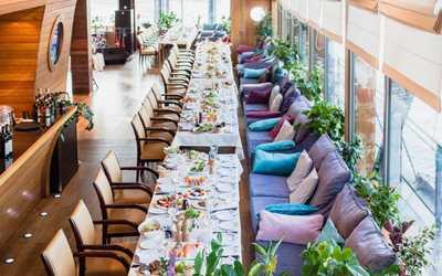 Банкетный зал ресторана Чайка на набережной Мартынова фото 1