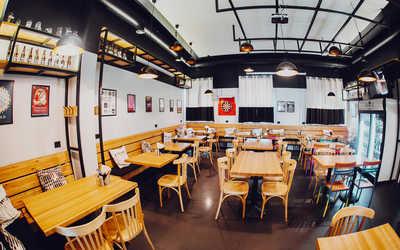 Банкетный зал бара, паба, пивного ресторана Пивной Этикет (бывш. Место) на улице Марата