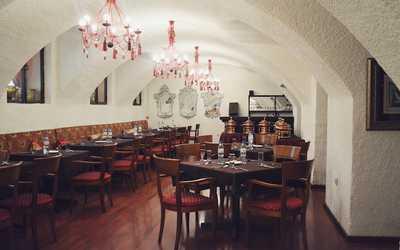 Банкетный зал ресторана Darbars (Дарбарс) на улице Покровка