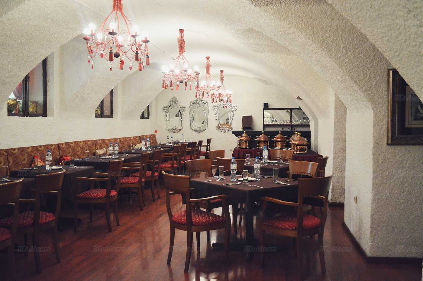 Меню ресторана Darbars (Дарбарс) на улице Покровка